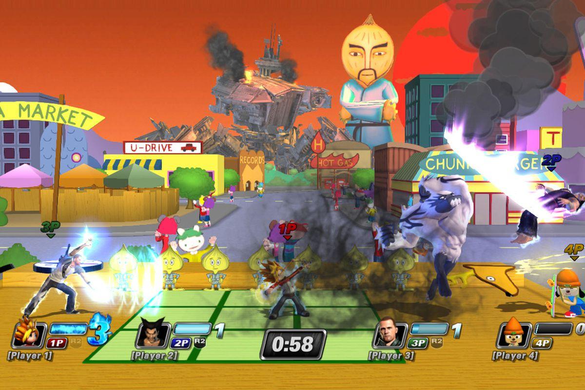 Gallery Photo: 'PlayStation All-Stars: Battle Royale' Gamescom 2012 screenshots