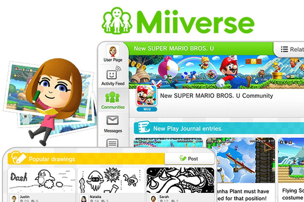 Nintendo shutting down Miiverse in November
