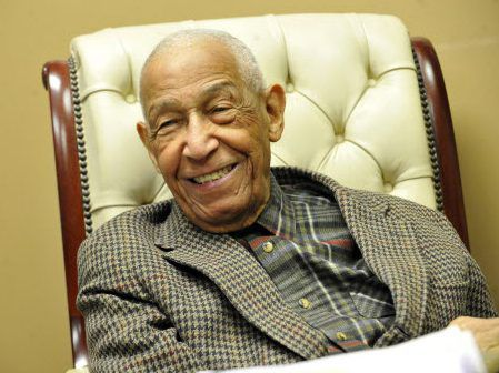 George Leighton pictured at his Loop office in 2009. | Brian Jackson/Sun-Times