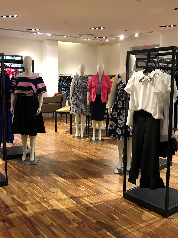 Eloquii's new pop-up store in Washington, DC.