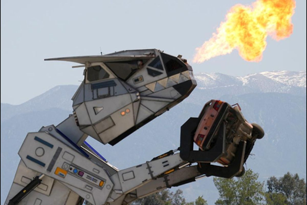Even this thing couldn't turn our beloved Grizzlies into roadkill. And it has a flamethrower.