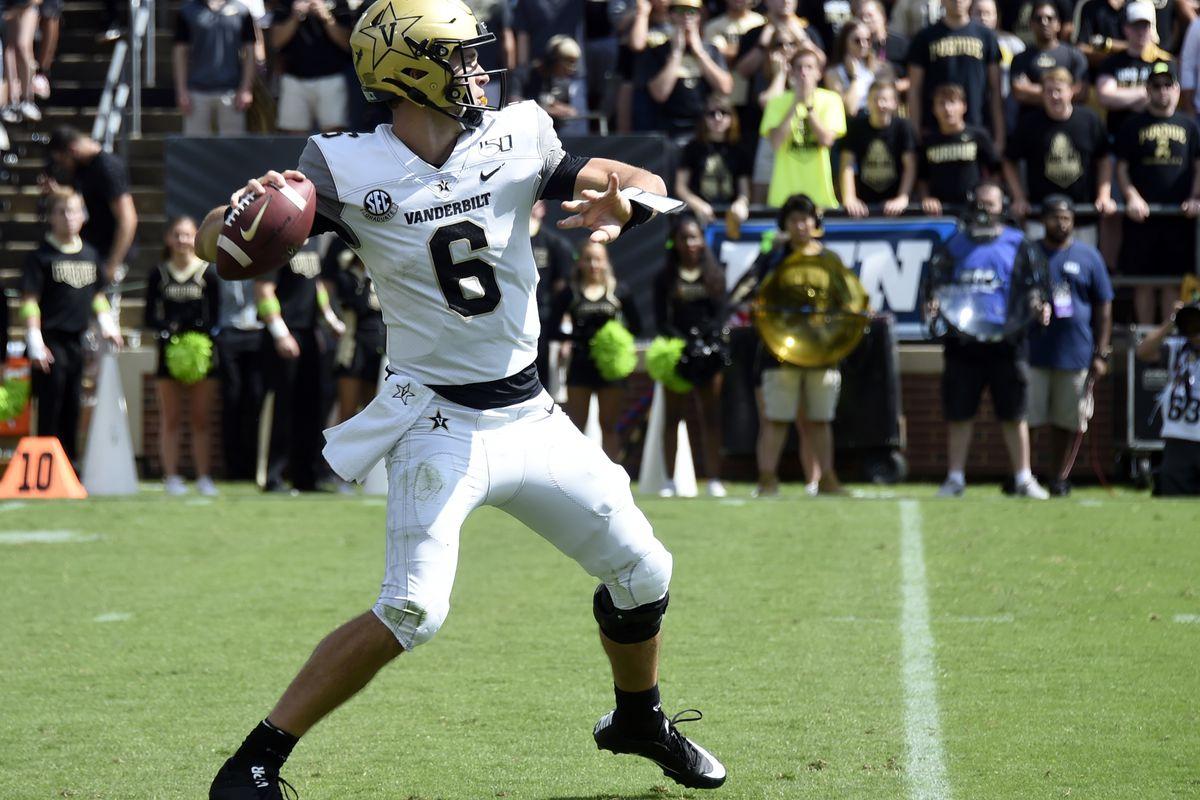 NCAA Football: Vanderbilt at Purdue