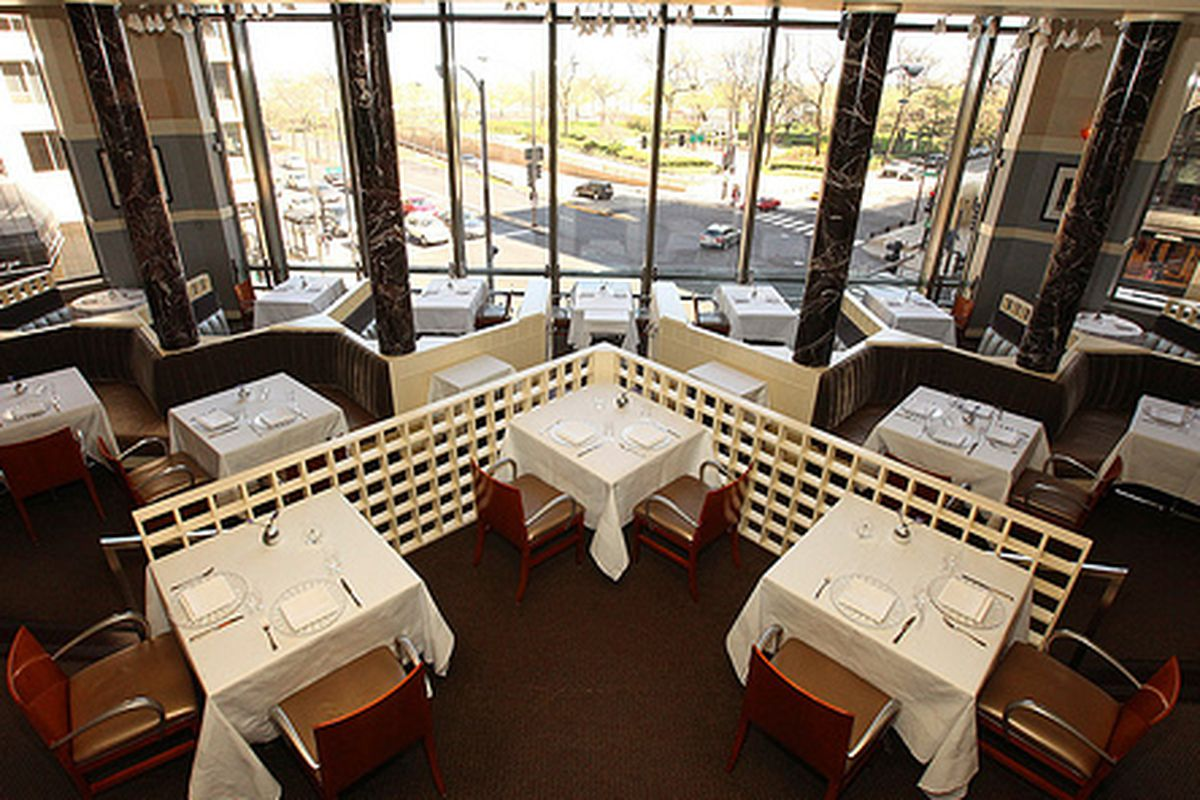 The Spiaggia Dining Room