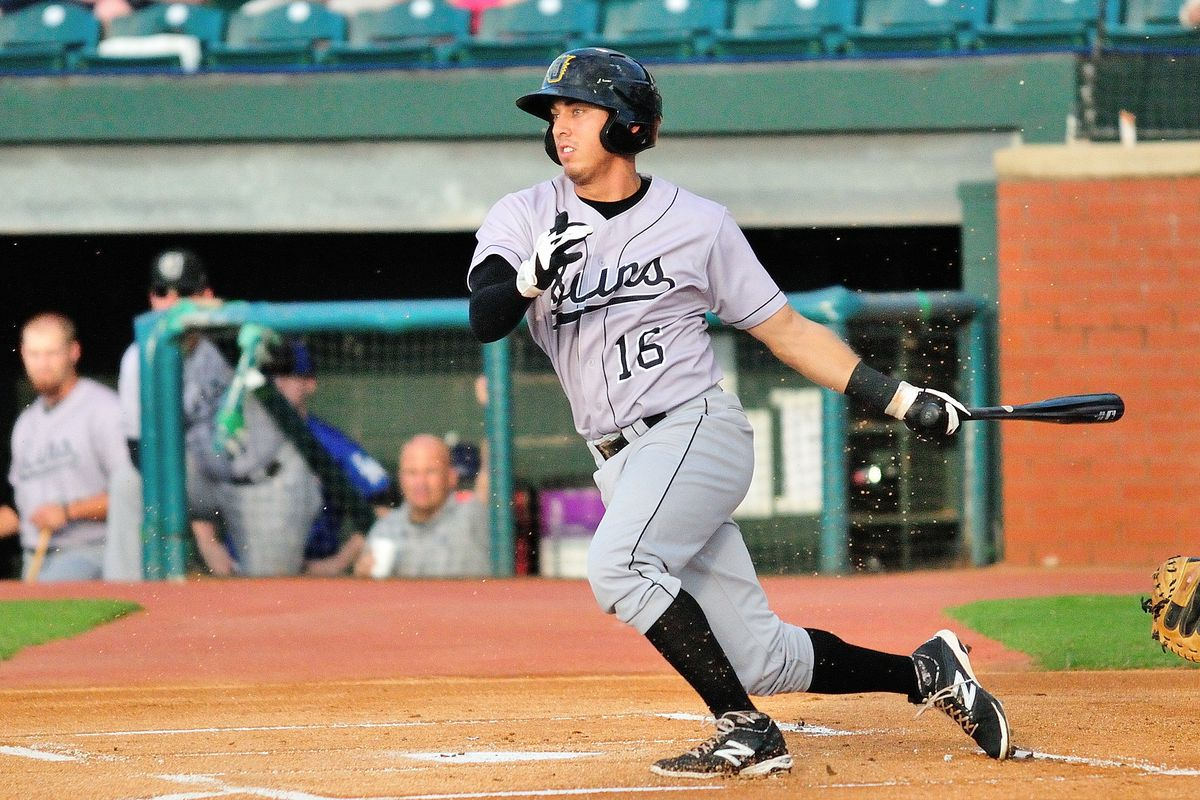 Austin Barnes with Double-A Jacksonville in 2014 caught 29 games, played 30 games at second base and 15 more at third base.