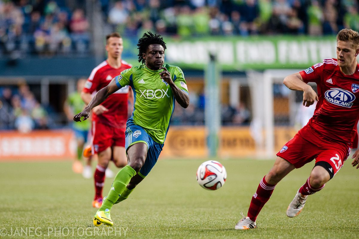 Obafemi Martins' adjustments were crucial to the Sounders' comeback