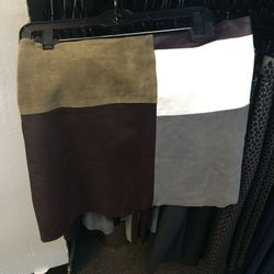 Patchwork skirt, size 8, $279 (was $495)