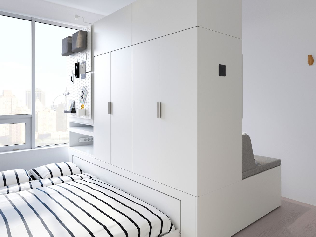 ikea is introducing robotic furniture for small spaces. Black Bedroom Furniture Sets. Home Design Ideas