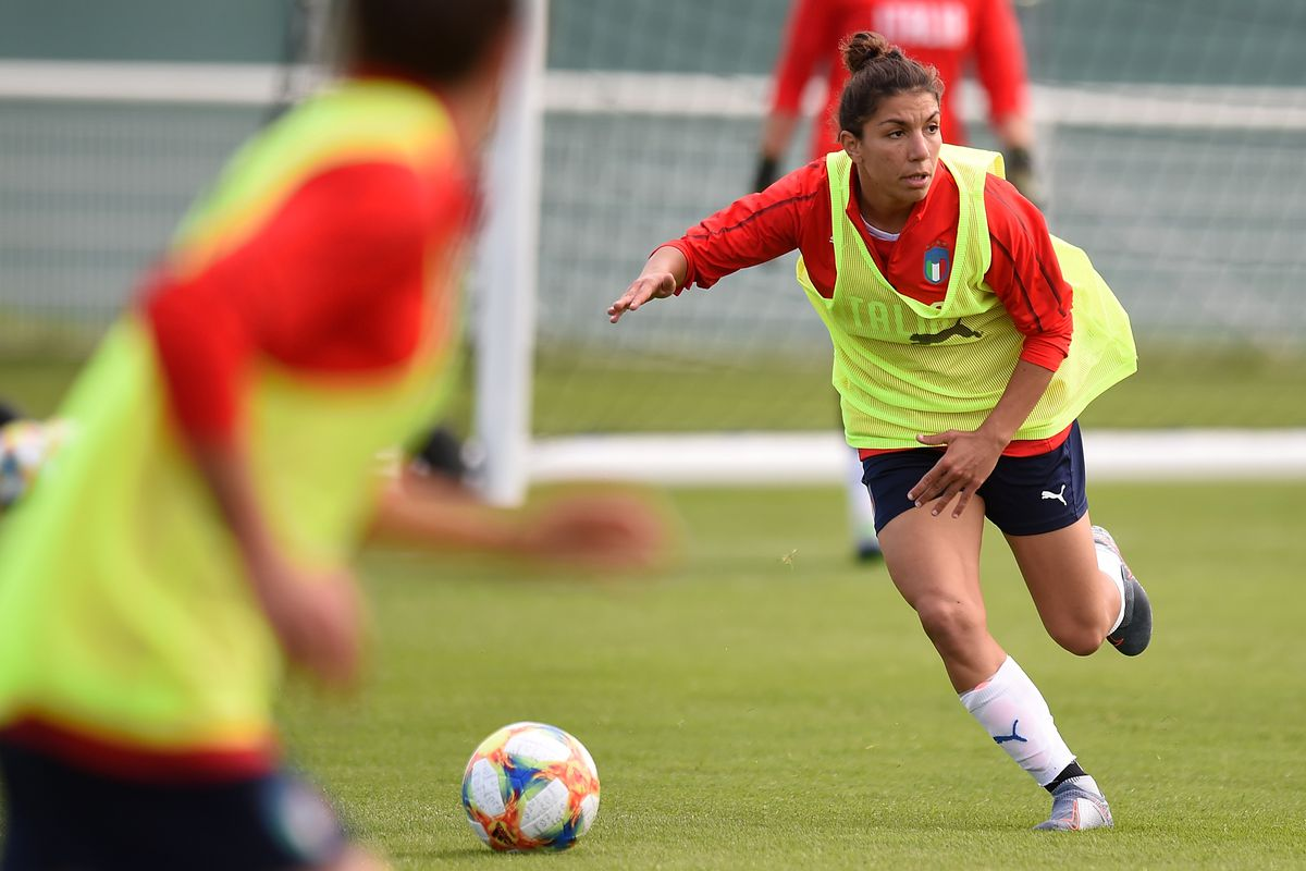 Italy Women Training Session & Press Conference: 2019 FIFA Women's World Cup France