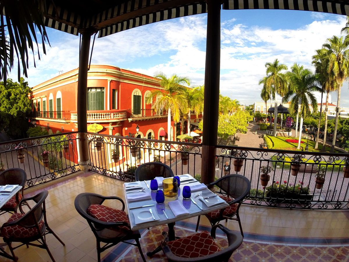 The cobblestone streets of Old Mazatlán are lined with restaurants and hotels in restored 19th-century buildings. | Courtesy Mazatlán Tourism Board