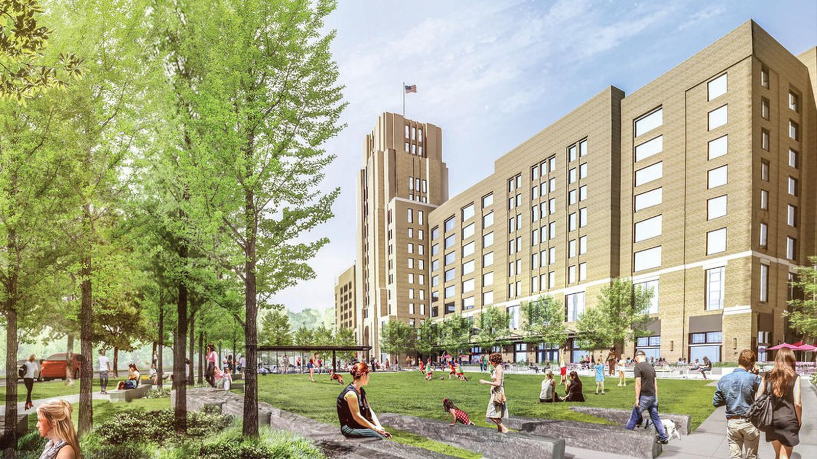 Landmark Center Expansion Will Likely Include New Park
