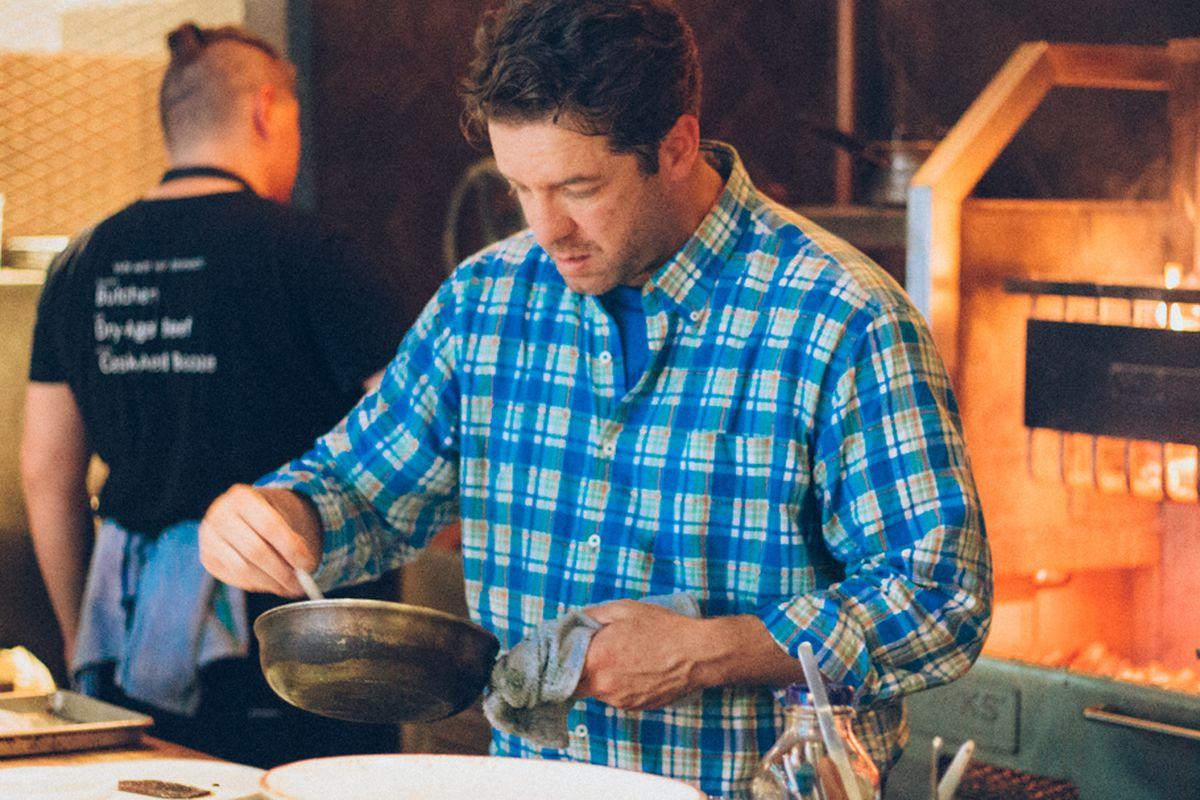 Jason Wilson cooks at Miller's Guild