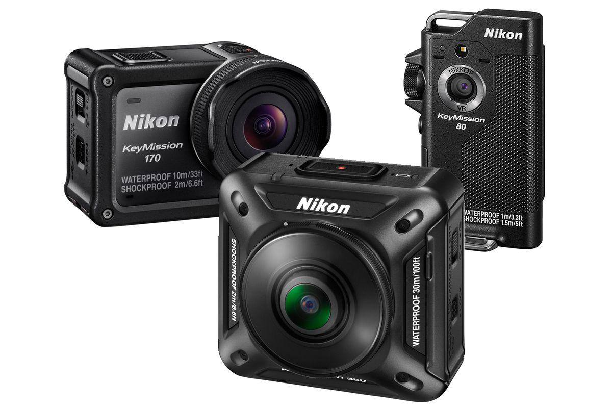 Nikon announces a line of rugged action cameras the verge for Camera camera