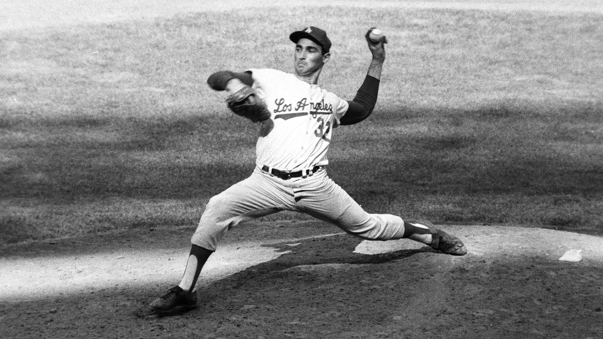 Sandy Koufax, greatest Jewish baseball player ever.