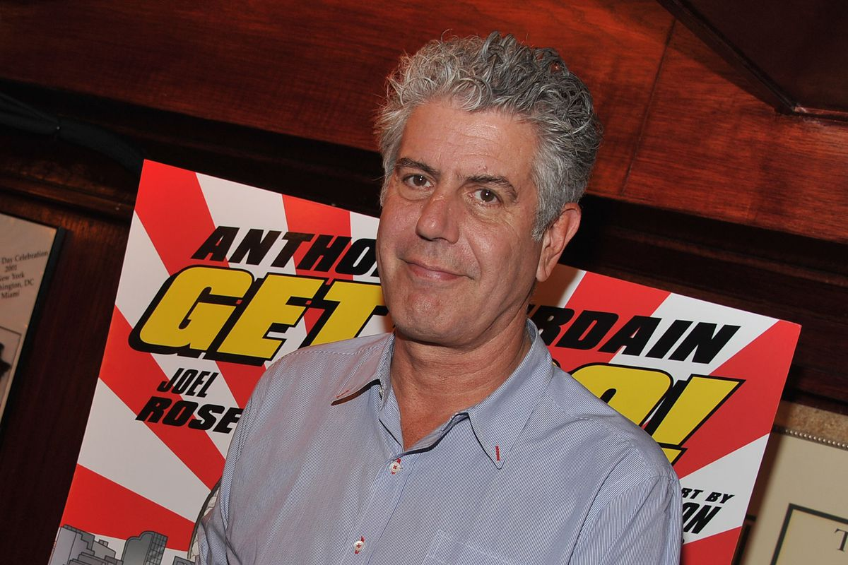 Anthony Bourdain And Joel Rose 'Get Jiro!' Book Launch Party