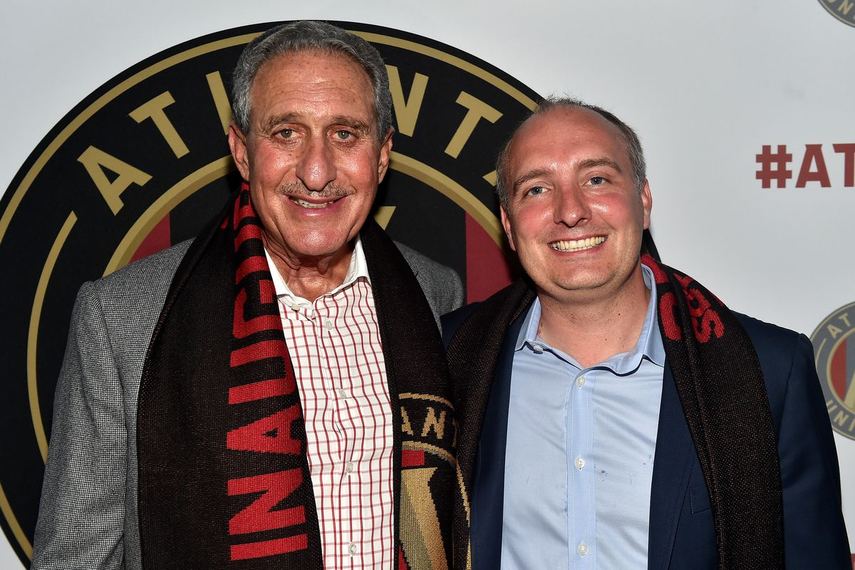 Arthur Blank and Darren Eales are two men tasked with making AUFC a success.