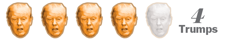 four trump rating