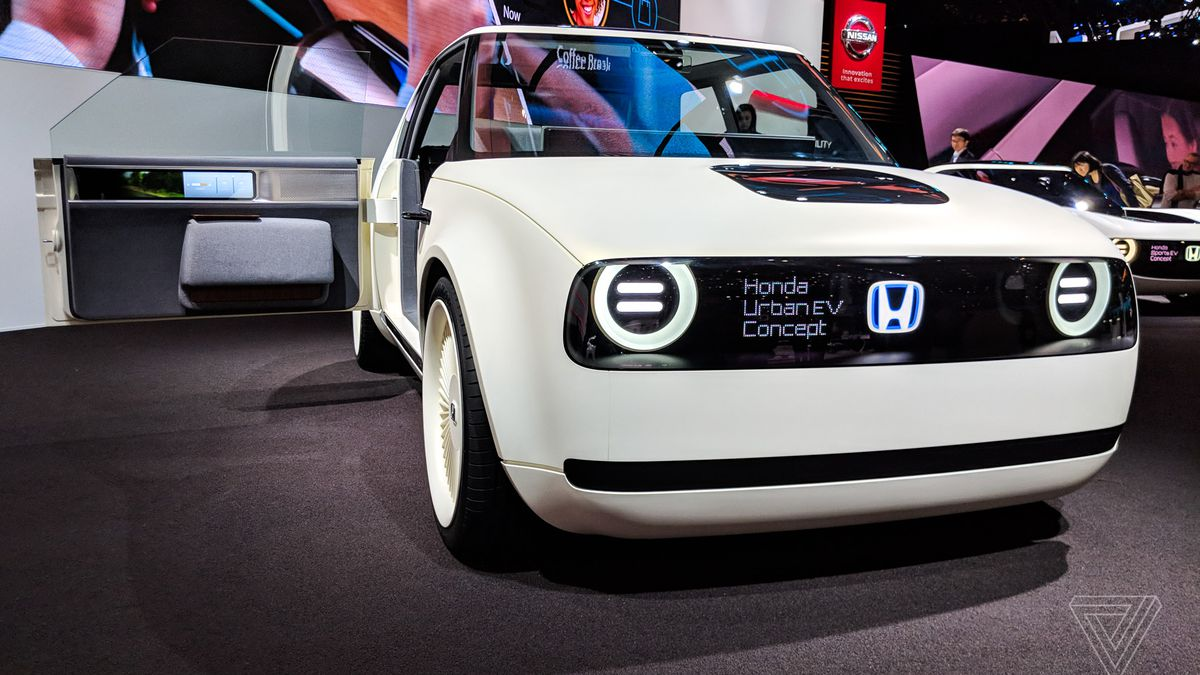 Tesla 2019 >> Honda's Urban EV Concept is even more adorable in the flesh - The Verge