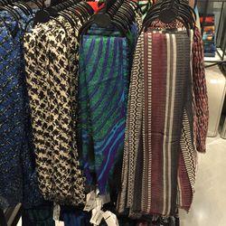 Cashmere silk scarves, $99 (were $480)