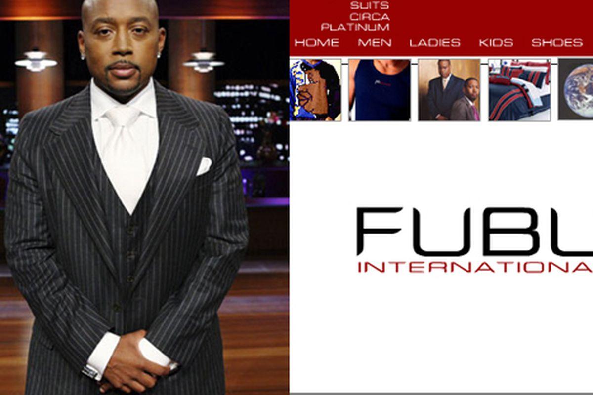 "Images via <a href=""http://www.daymondjohn.com/about/"">DaymondJohn</a>, <a href=""http://www.fubu.com/mainpage.html"">FUBU</a>"