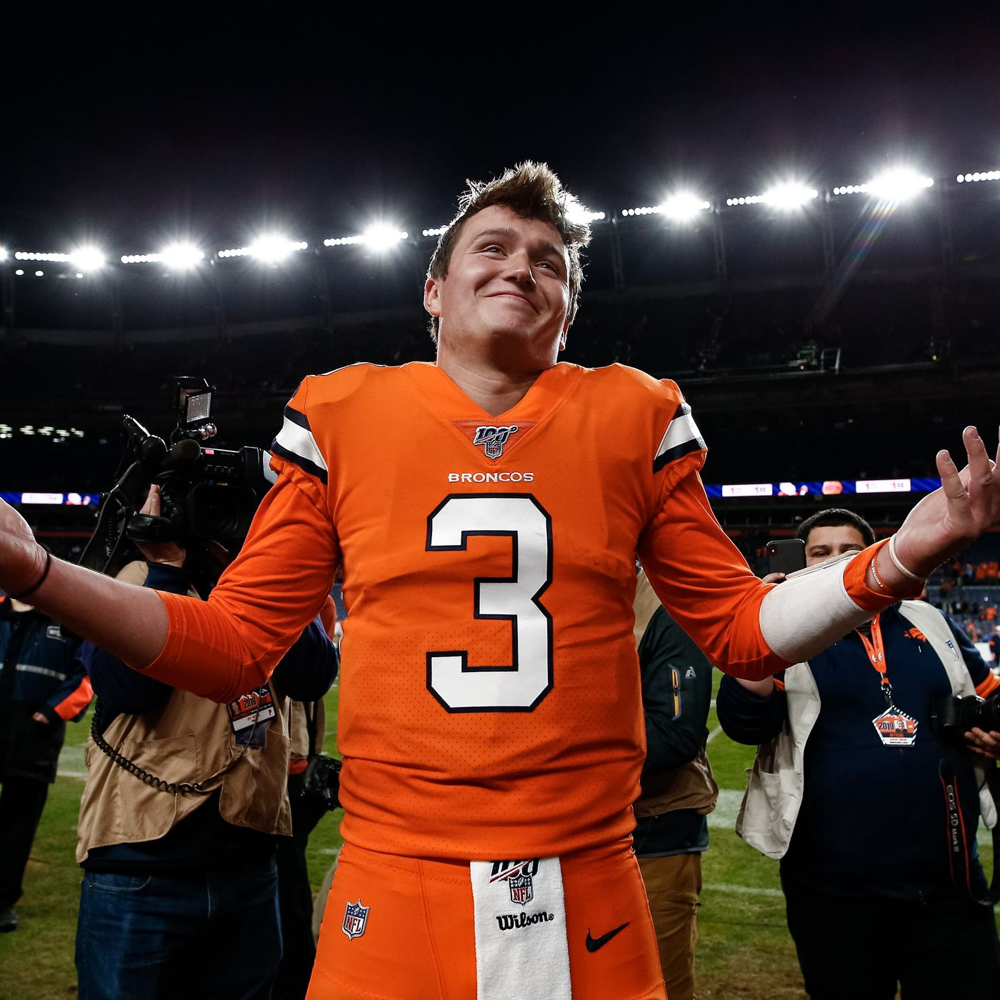 Drew Lock is the Denver Broncos' guy. Now it's time to build ...