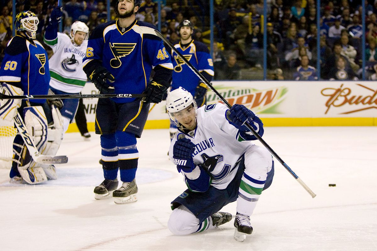 Vancouver Canucks v St. Louis Blues - Game Four