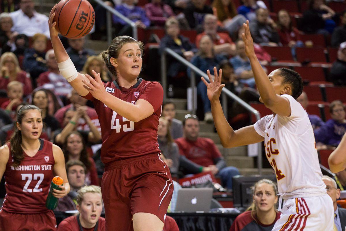 NCAA BASKETBALL: MAR 03 PAC-12 Women's Tournament - Washington State v USC