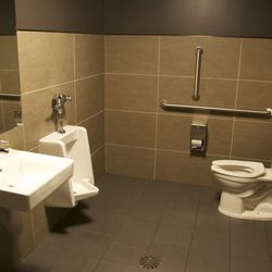 A one-person-at-a-time restaurant restroom indicates faith in the quality of your cuisine.