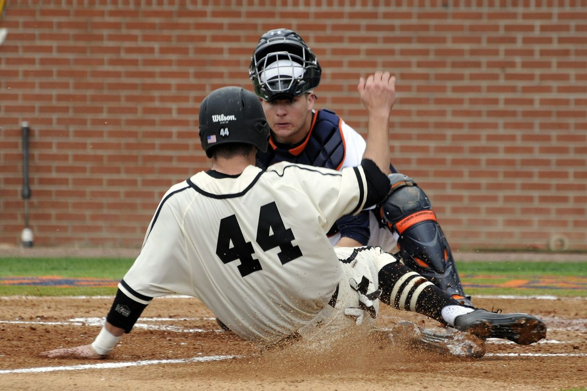 Auburn beat Texas A&M in College Station, Friday night, 6-4 in 10. This is from a Vandy game.