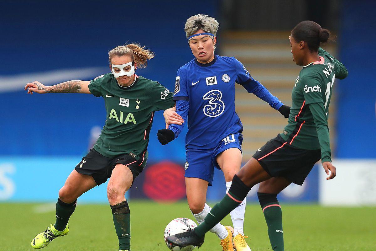 Chelsea Women v Tottenham Hotspur Women - Barclays FA Women's Super League