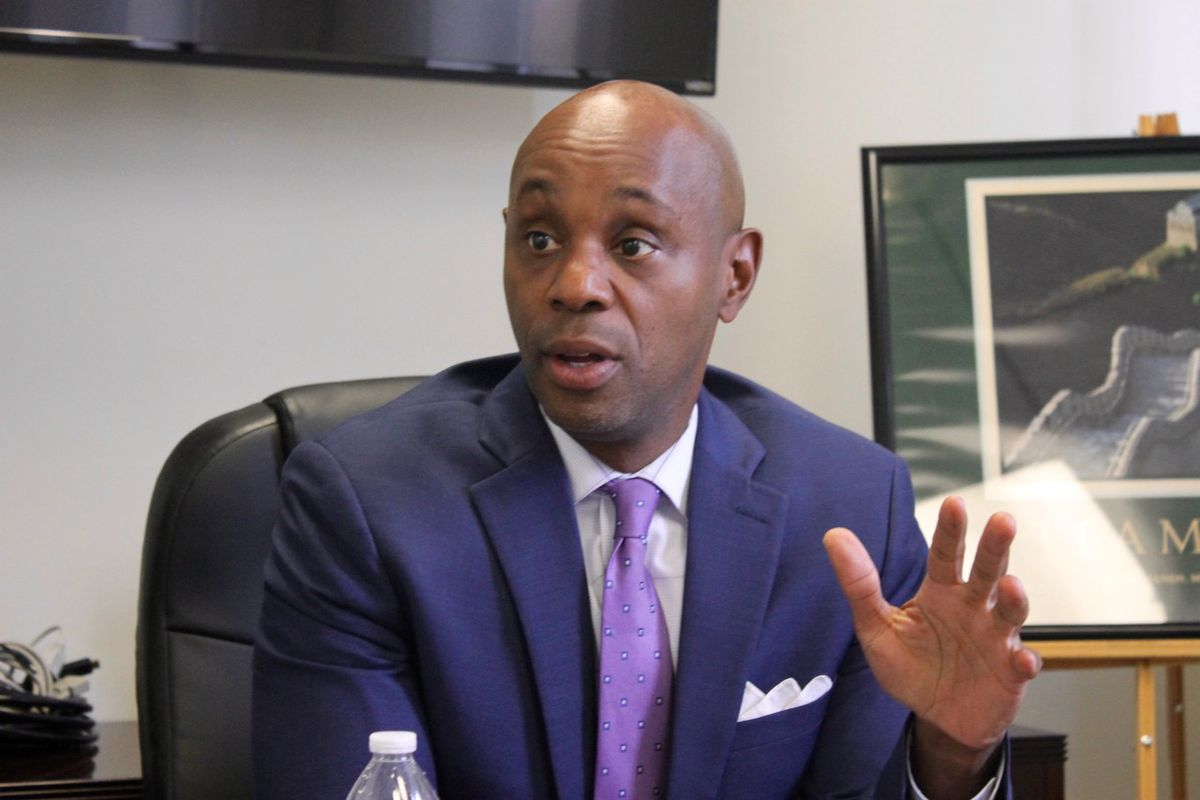 Superintendent Dorsey Hopson is in talks with state officials about the future of American Way Middle, a struggling Memphis school that the state has identified for conversion to a charter school under Shelby County Schools or takeover by Tennessee's Achievement School District.