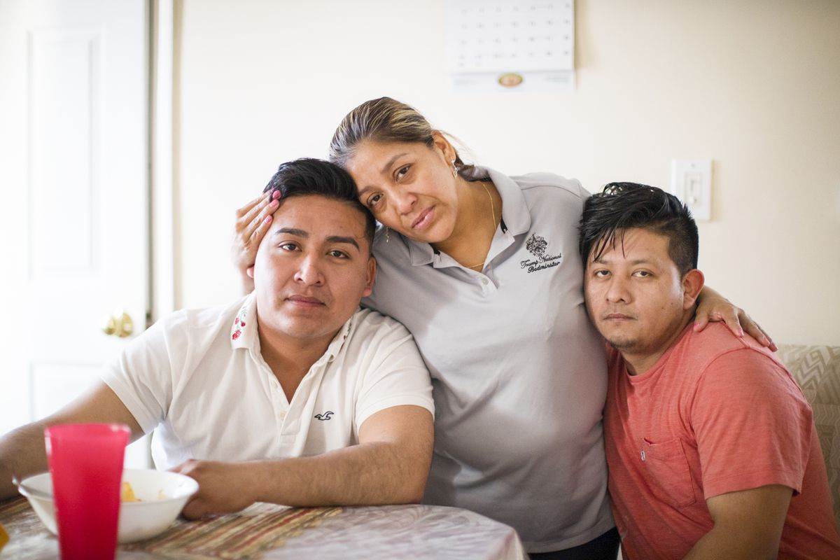 Victorina Morales, the undocumented housekeeper who worked for Trump