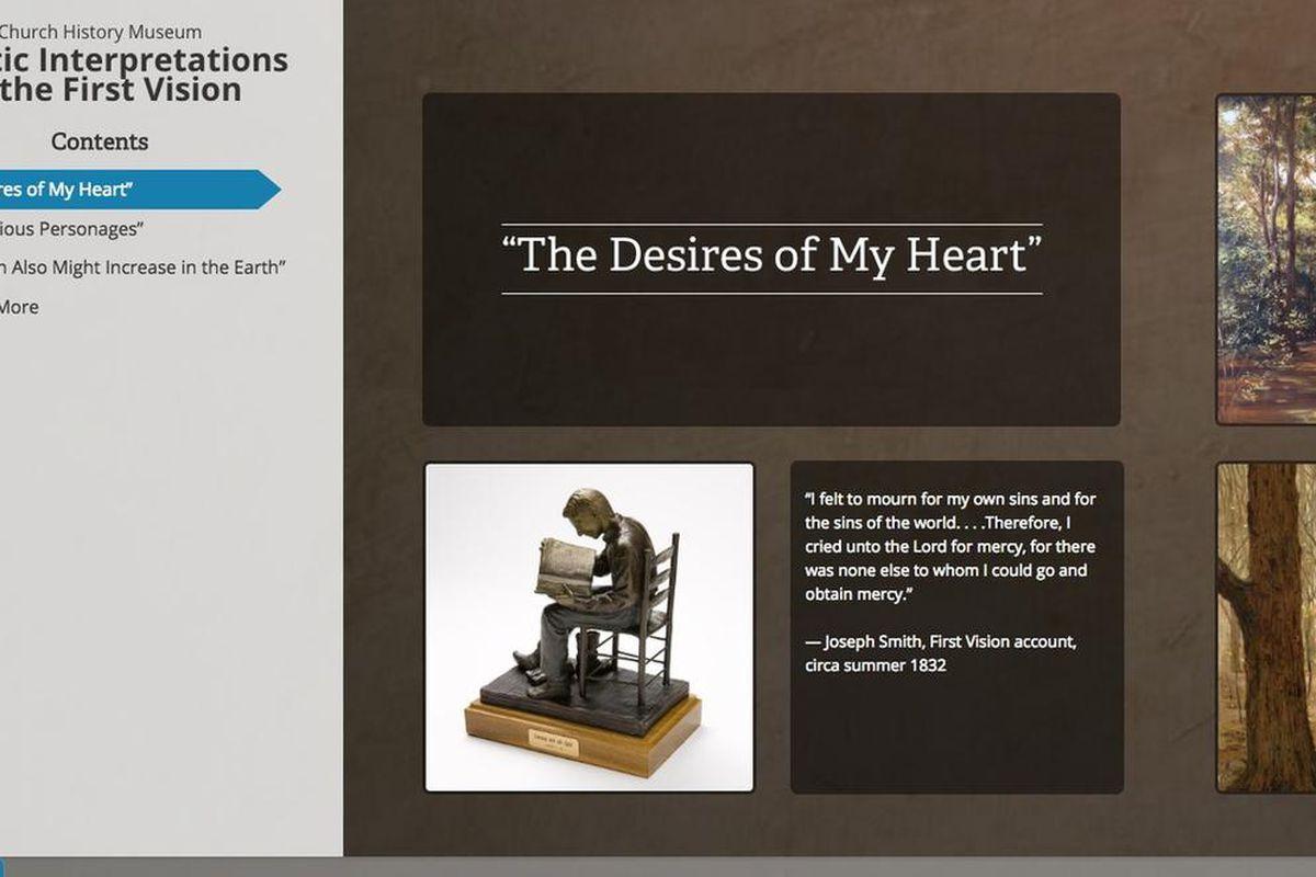 LDS Church History Museum's new online art exhibit features