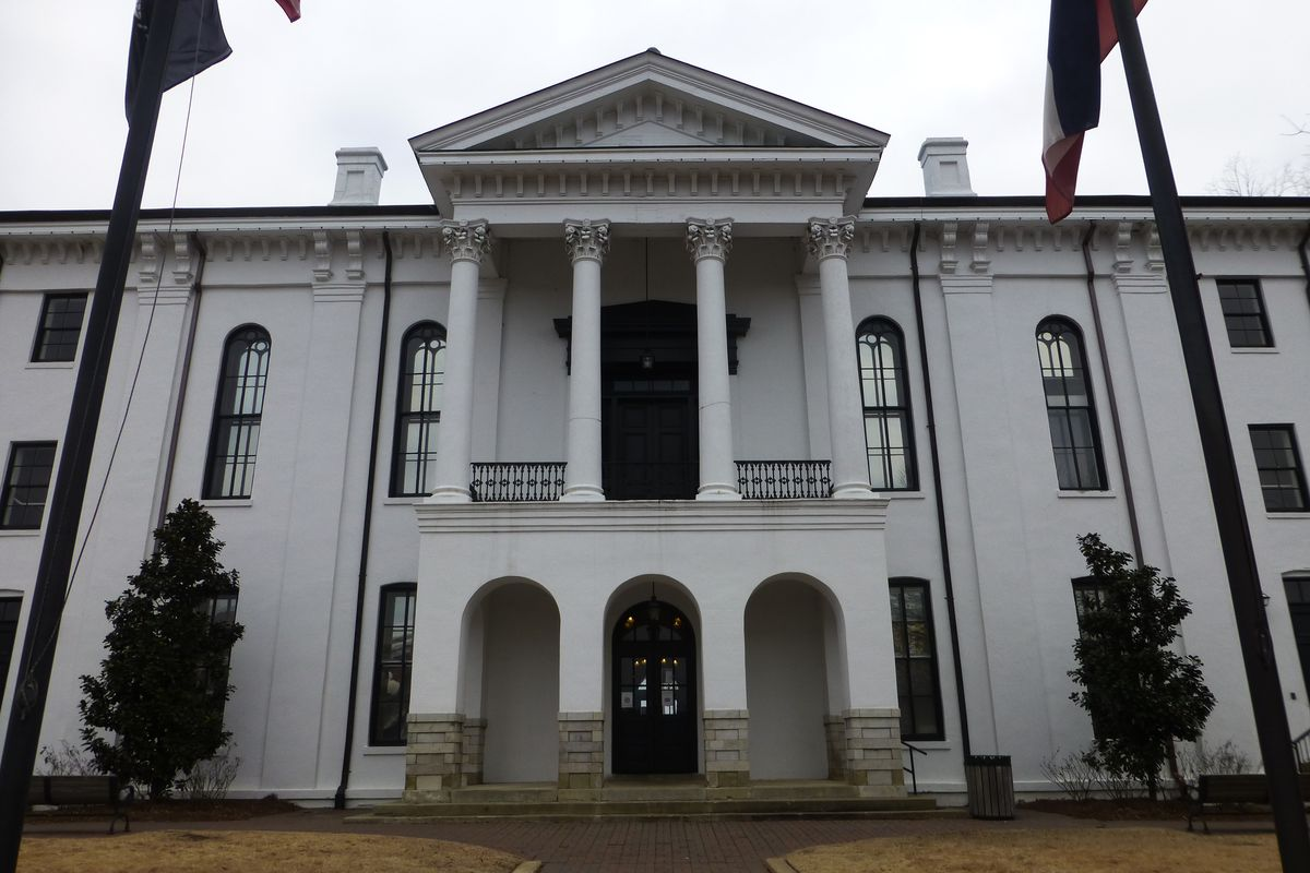 The Lafayette County Courthouse
