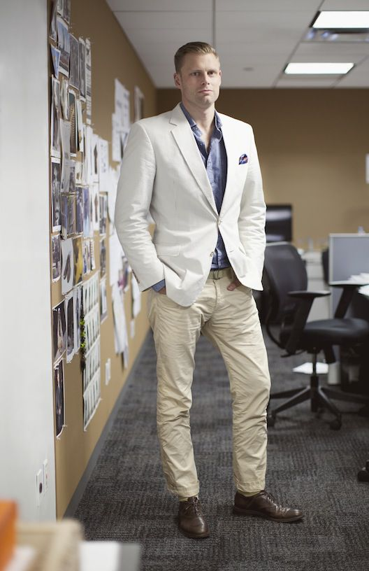 The Men And Woman Of Gilt Man Summer Office Style Part I Racked