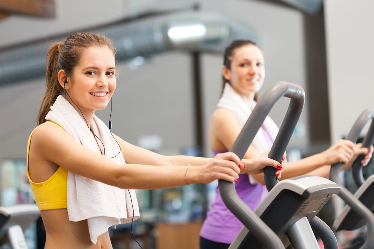 Going to the gym is a common New Year's resolution but you probably shouldn't just stand still on an elliptical.
