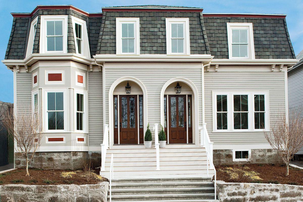 Roxbury project house exterior