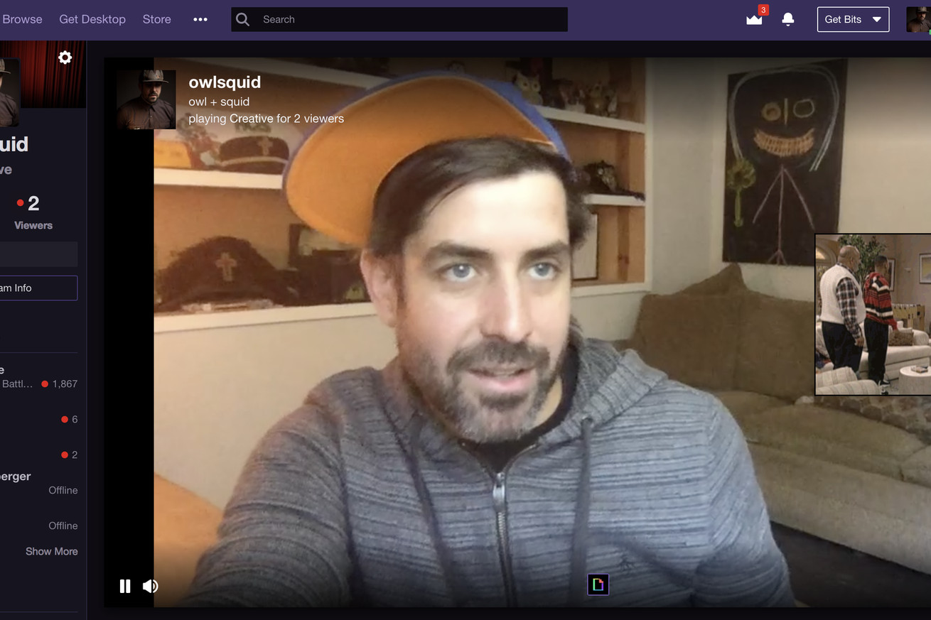 twitch broadcasts are getting gifs
