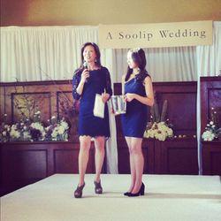 A Soolip Wedding's creator, Wanda Wen, and her daughter.
