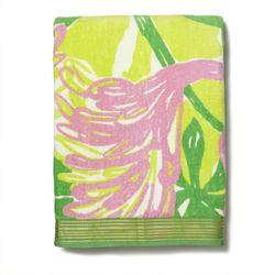 'Fan Dance' beach towel, $25