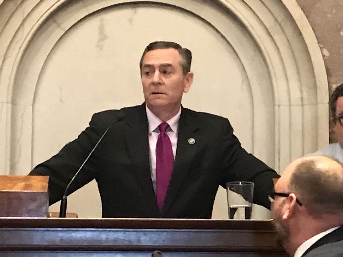 Rep. Glen Casada, a Republican from Franklin, was voted speaker of the House in January. (Photo by Marta W. Aldrich)