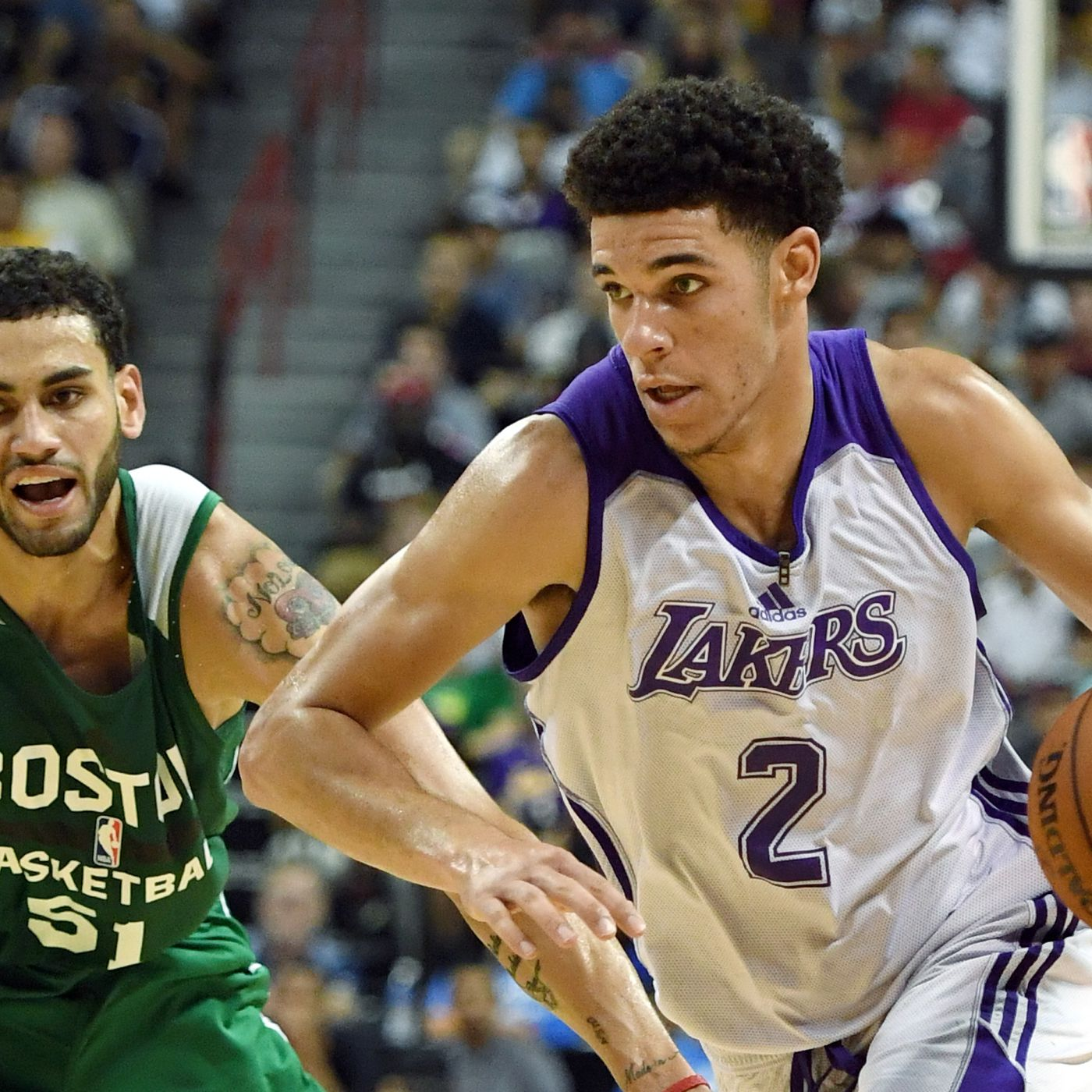 19d87deda Lakers News  Jason Kidd says being compared to Lonzo Ball is a  great  compliment . New ...