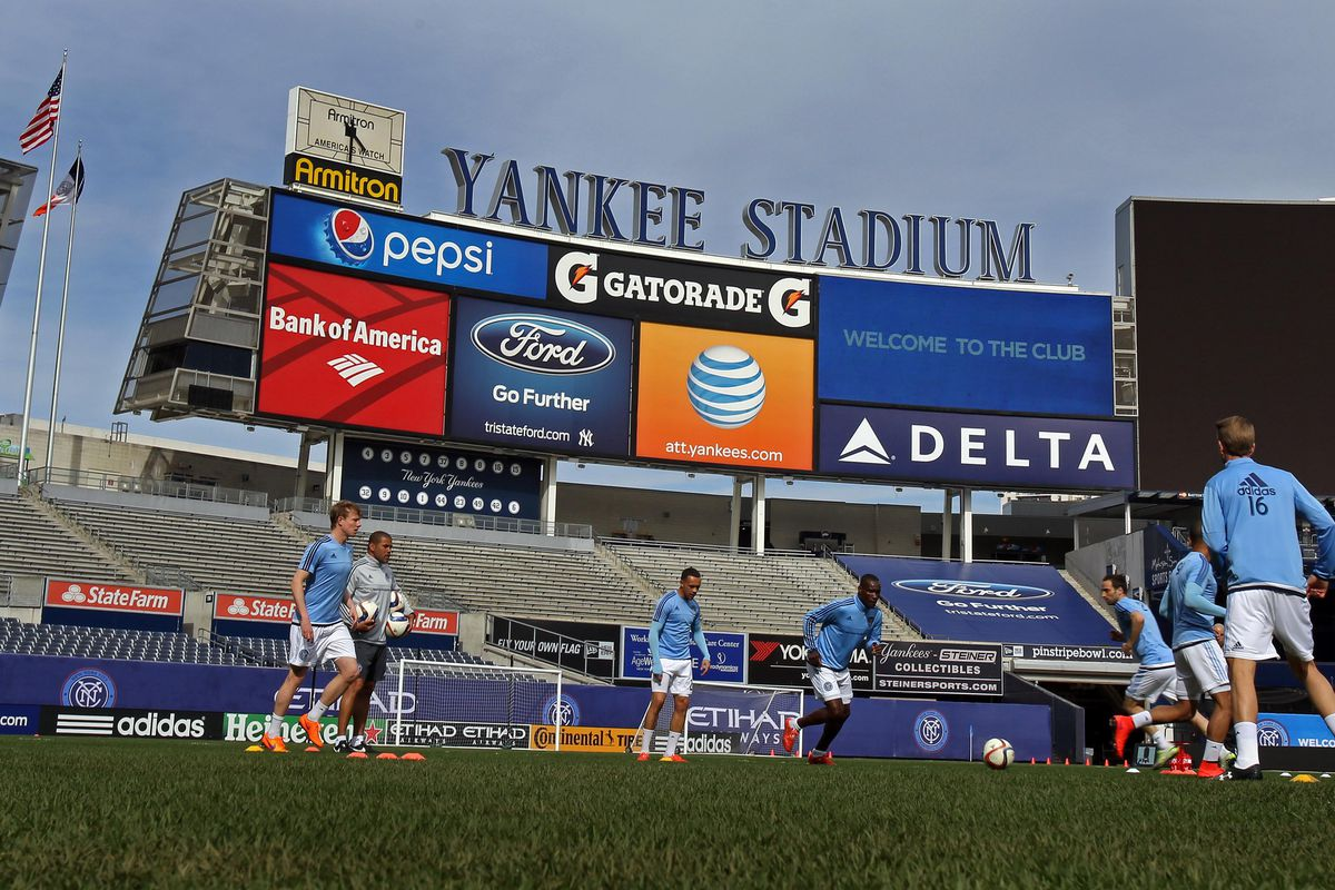 The Union paid a first ever trip to Yankee Stadium and stole a point.