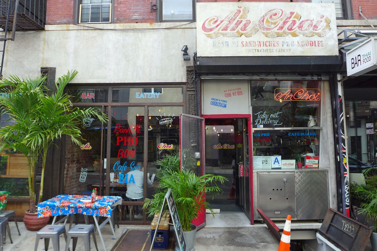 The Lower East Side's An Choi evokes a market food stall in Vietnam