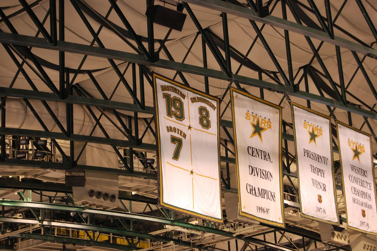 It's not like the Dallas Stars haven't won the Central before.