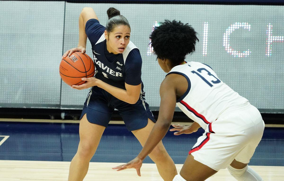 NCAA Womens Basketball: Xavier at Connecticut