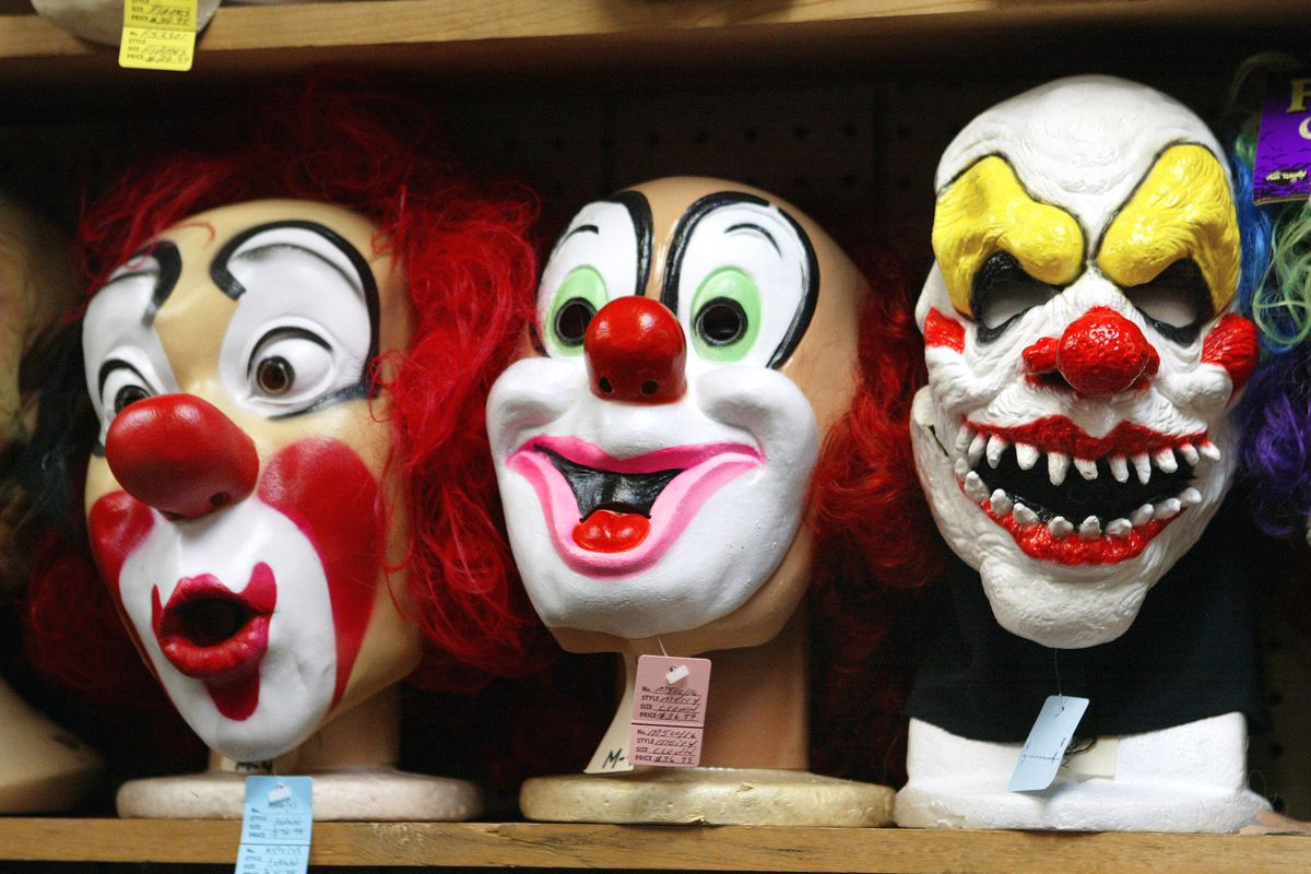 Three home invaders in clown masks kicked in an apartment door and stole cash Nov. 9, 2019, in the 5500 block of West Leland Avenue.
