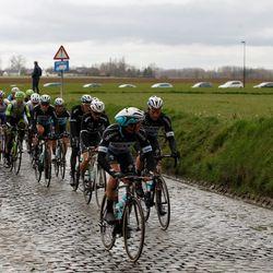 Peloton reaches the Holleweg