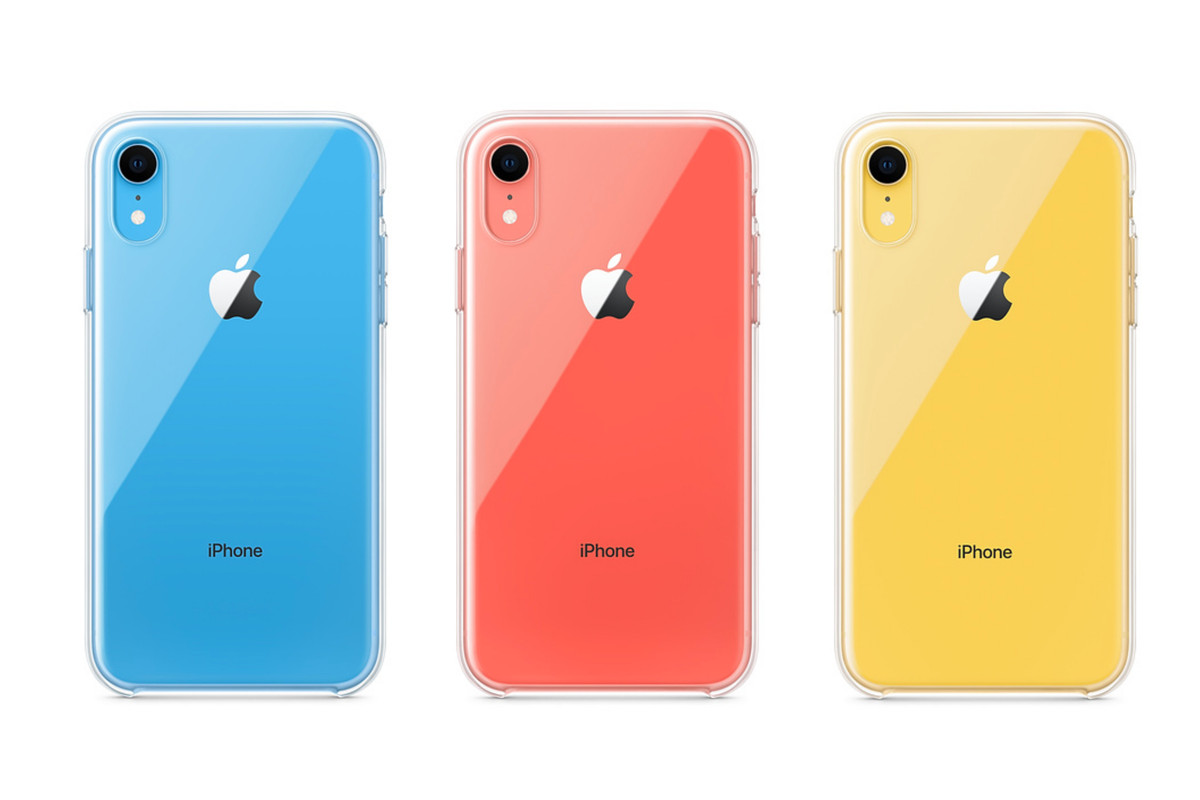 buy popular 47dca 71478 Apple releases its first clear case to show off the iPhone XR's ...