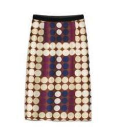 Silk skirt, $59.95