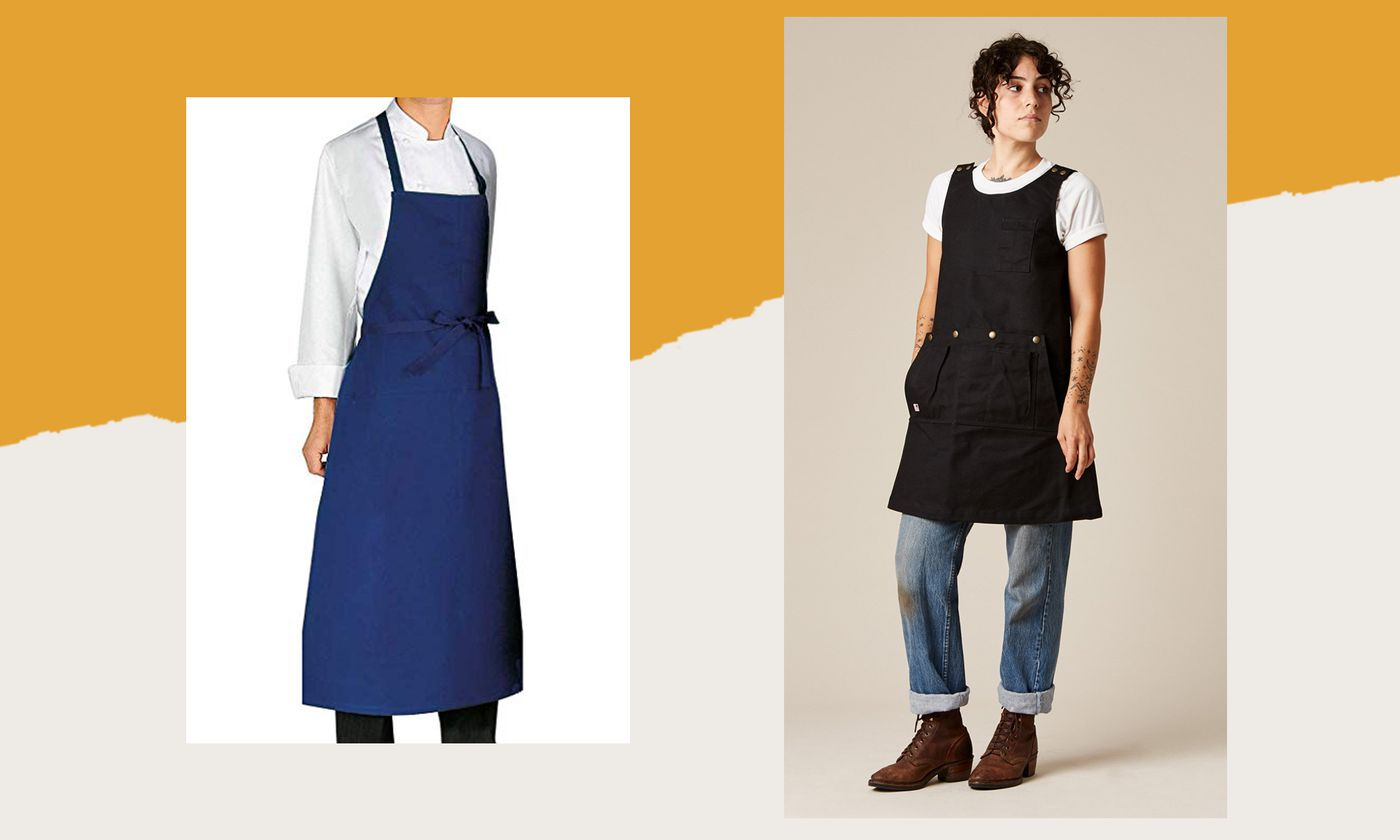 The Best Aprons for Cooking, According to Chefs Like Samin